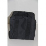 Heavy Duty Nylon Bocce Bag - Black with Black Handles