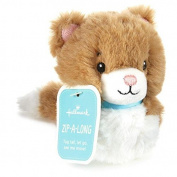 Zip-Along Cat Stuffed Animal Interactive Stuffed Animals