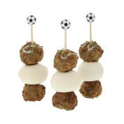 CiboWares 12cm Soccer Ball Picks, Pack of 100