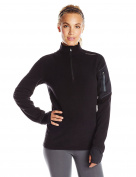 Hot Chillys Women's Lamont Zip-T Base Layer Top