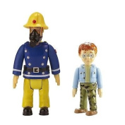 Fireman Sam 2 Figure Pack - Sam with Mask & Norman [Toy]