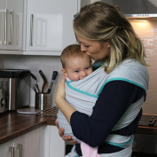 Ergonomic Baby Carrier | Organic Cotton | Suitable for Newborns & Infants | One Size Fits All | Cosy & Soothing Fabric For Babies | Using Babyboon Wrap Is The Way to Bond With Your Baby | TRY NOW !