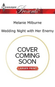Wedding Night with Her Enemy  [Large Print]