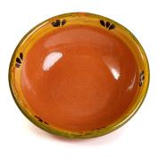 Mexican Clay Soup Bowl - Trefoil Design