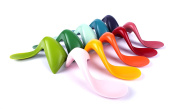 Kizingo Right-Handed Toddler Spoon, Carrot