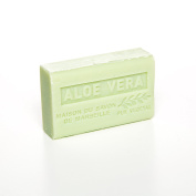 French Soap, Traditional Savon de Marseille - Aloe Vera 125g