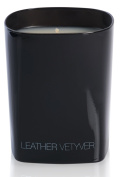 Ex Voto Paris Black Edition Leather Scented Candle Vetyver, 230 g
