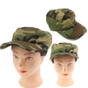 Carp Fishing/Camouflage Baseball Cap Hat - Army Dimensions 60 - L Hat