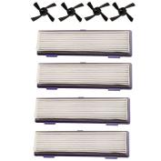 5 x HEPA Filter Side Brush for Neato BotVac 70E 75 80 85 Robotic Cleaner