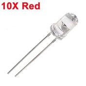 Bazaar 10pcs 5mm 3000-6000mcd LED Bright Decoration Torch Toy Light Red
