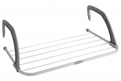 Premier Housewares Folding Radiator Dryer, White/Grey