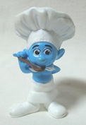 2011 US McDonald's Happy Meal toy movie ' Smurfs (THE SMURFS) ' ' Chef ' figure