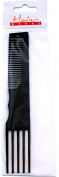 Professional Hair Dressing Curly & Permed Hair Lifting Comb Black Pack Of 6