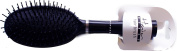 Unisex Hair Style & Grooming Rubber Pad Oval Shape Black Hair Brush Pack Of 4