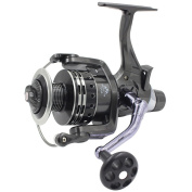 Supertrip IFR6000 Pike Carp Reel Baitrunner Spinning Fishing Reel with Front Drag and Rear Drag 11+1BB Ball Bearing 4.7:1