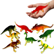 """Toy Cubby Educational Large Realistic Dinosaurs - 4"""" - 5"""" Dinosaurs Figures - 12 Pcs."""