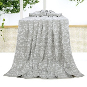 BDUK Pure Cotton Towel And Double Bed Linen Summer Afternoon Nap Air-Conditioning Blanket Gauze Infant Baby Blanket