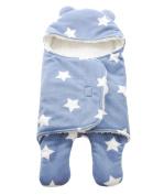 SAMGU Newborn Sleeping Bag Winter Stroller Bed Swaddle Blanket Wrap star