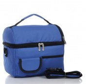 Nalmatoionme 8L Blue Waterproof Picnic Fresh Ice Insulated Lunch Travel Box Bag Cooler Pack Tool