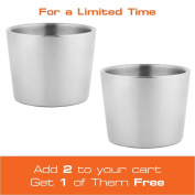 Titan Gear Lowball Tumbler Stainless Steel Double-Walled Coffee Mug Handleless - Get One Now!