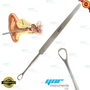 YNR® EAR WAX REMOVER MEDICAL EAR CLEANER SURGICAL STAINLESS STEEL PRODUCTS 14cm