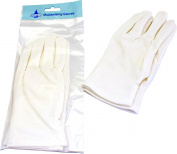 Ladies Luxurious Overnight Hand Treatment 2x Moisturising White Gloves Pack Of 6
