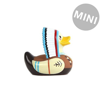 Bud Duck ~ Mini Collectible Deluxe Rubber Duck ~ CHIEF