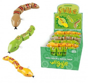 Kids Clockwork Wind Up SNAKE Birthday Party Bag Christmas Stocking Filler Toy UK by Lizzy®