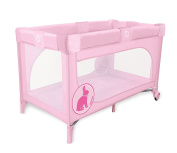 asalvo Travel Cot Speed Pink