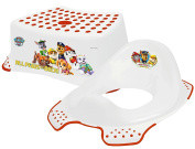 Nickelodeon PAW Patrol Step Stool + Toilet Training Seat Combo