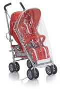 MINY Moo mm013210000 Raincover for Pushchair, Transparent