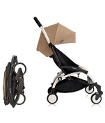 Babyzen YoYo Pushchair Ultra-Compact Chassis White Colour Taupe