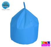 Happy Beds Quality Double Zipped Jazz Large Chino Light Sky Blue Bean Bag 60 x 60 x 70cm