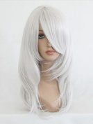 Beauty Smooth Hair Sexy Women Shoulder Length Red Curly Wavy Full Wigs Party Hair Cosplay Wig NW03-3