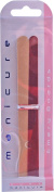 Beauty Manicure Double Sided Straight Nail Files 6x Emery Boards 17cm Pack Of 6