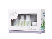 Tiddley Pom Baby Spa Gift Set with Organic Baby Lotion, Wash, Oil and Nappy Balm