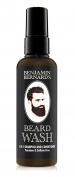 Benjamin Bernard Beard Shampoo, 2-In-1 Shampoo & Conditioner for Beards Made with 100% Natural Oils, Paraben and Sulphate Free - 100 millilitre