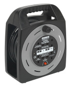 Sealey BCR25CB cable reel box type 25mtr 4 x 230v 1.25mm� thermal trip