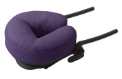 Earthlite Headrest Flex Rest with Strata Face Pillow, Amethyst