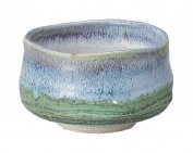 Yamakiikai Japanese Tea cup Matcha Bowl Deep Sea pattern M1730 From Japan