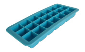 Silicone Ice Cube Tray Ice Cube Tray With Lid For 21 Ice Cube Blue