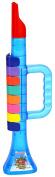 Bontempi - Trumpet Musical Instrument - 322769 Translucent Super Wings - Blue/Yellow