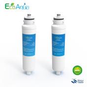 2 EcoAqua EFF-6012A - Daewoo Aqua Crystal DW2042FR-09 Compatible Refrigerator Water Filter cartridge