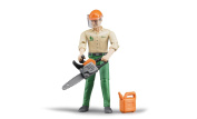 Logging Man with Accessories