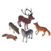 US Toy Woodland Forest Toy Animal Figures Action Figure