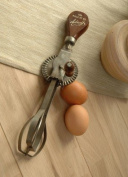 Vintage French Style Hand Whisk - 'Shabby Chic'