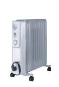 Fine Elements 11-Fin Oil Filled Radiator, 2500 W