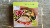 """Serving """"Party Set"""" TAPIOCA ( Plate & Matching Bowl ) by Food Network"""