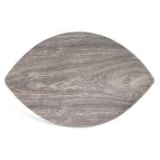 Merritt Heartwood Leaf 41cm x 25cm Melamine Serving Tray