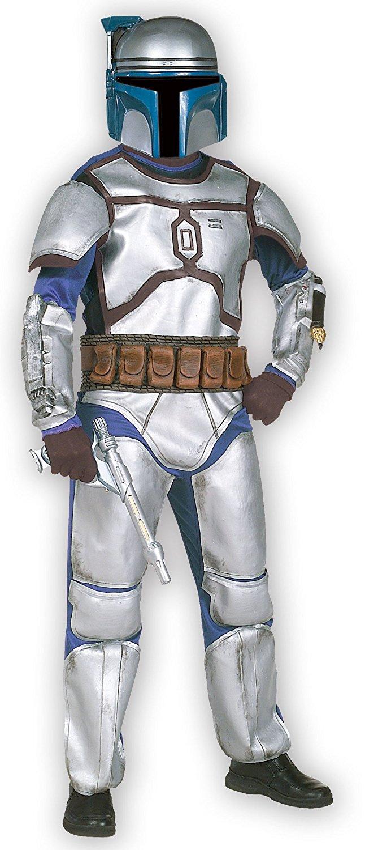 ecc076a521290 Rubie's Kids Deluxe Jango Fett Star Wars Costume
